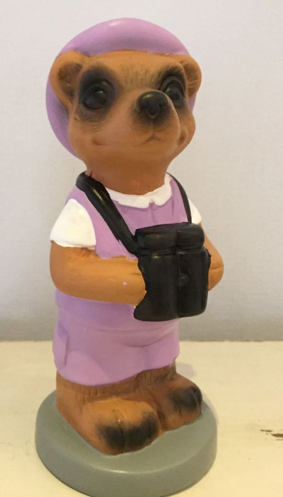 Safari Sightseeing Meerkat Money Bank - Lilac